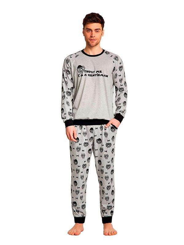 Комплект домашний: брюки и футболка | 5396156