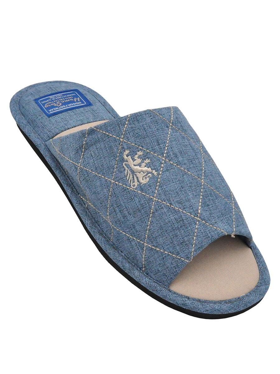 Тапочки голубые | 5399431