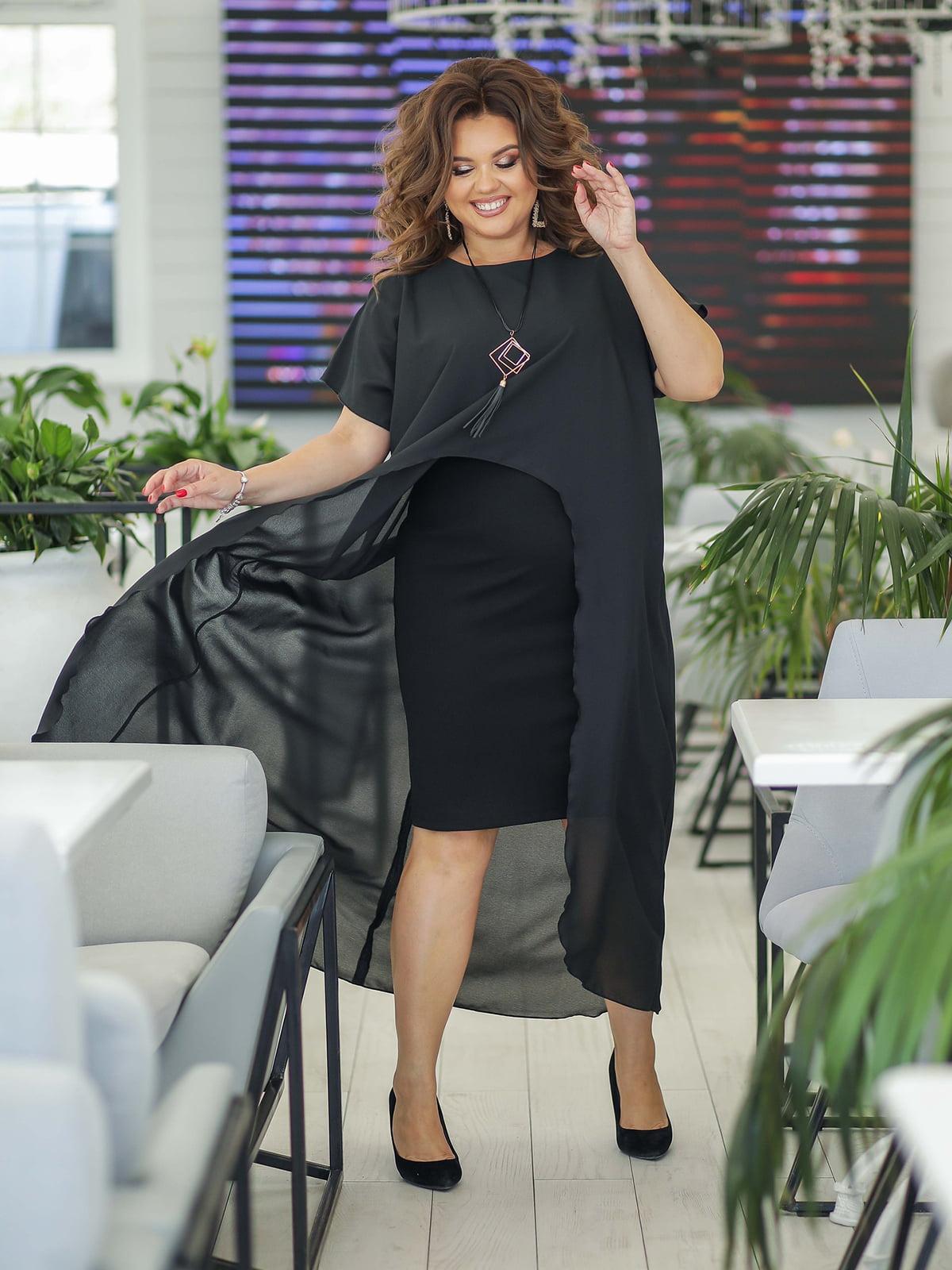 Платье черное | 5400975