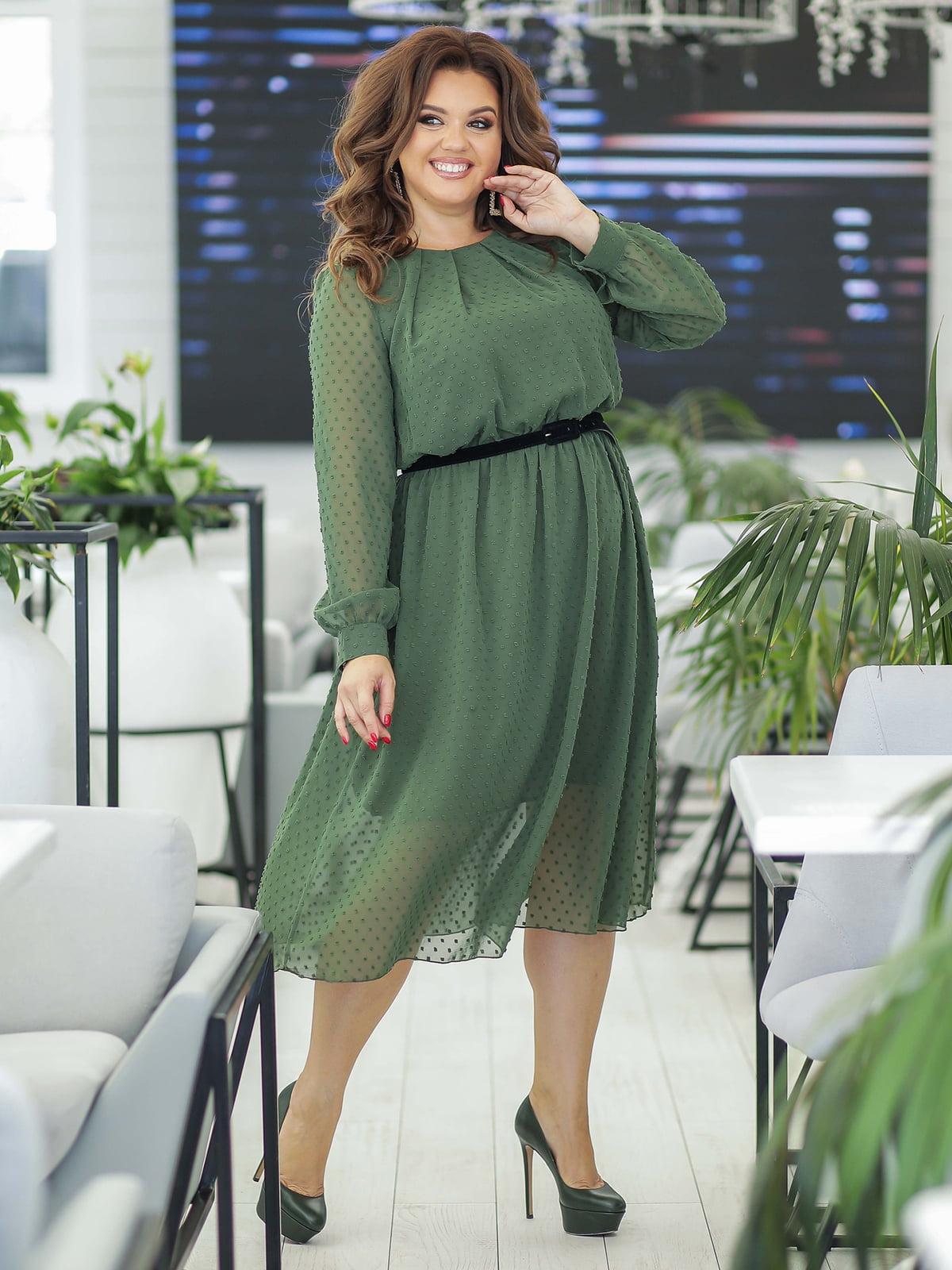 Платье цвета хаки | 5400979
