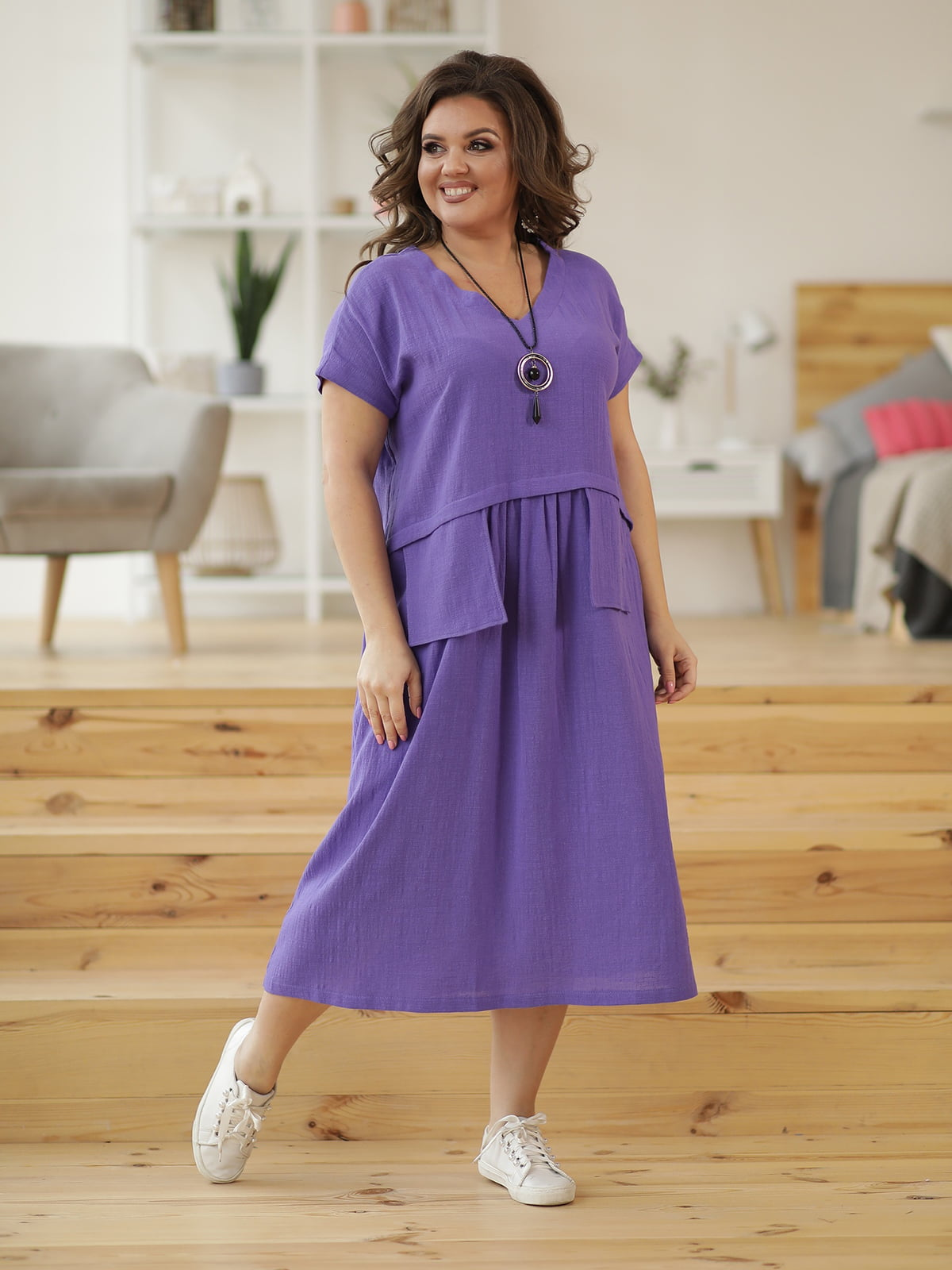 Сукня фіолетова | 5400997