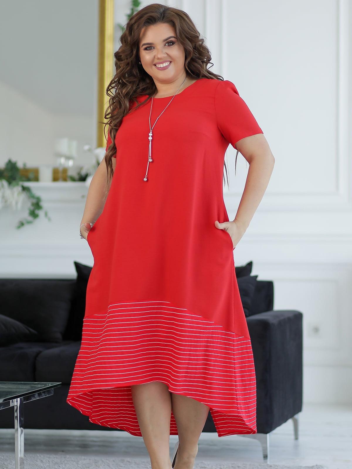 Сукня червона | 5401018
