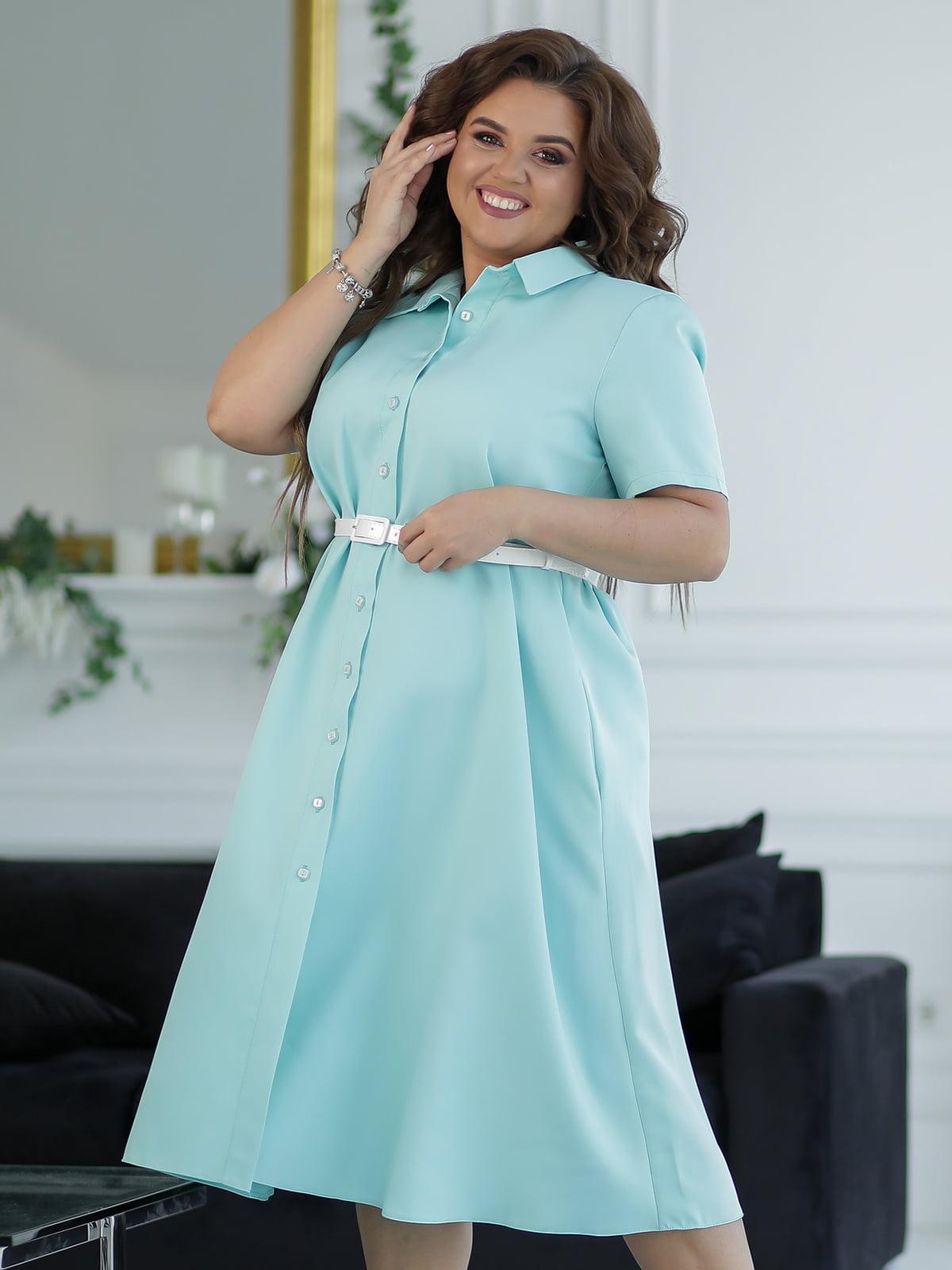Платье мятного цвета | 5401022