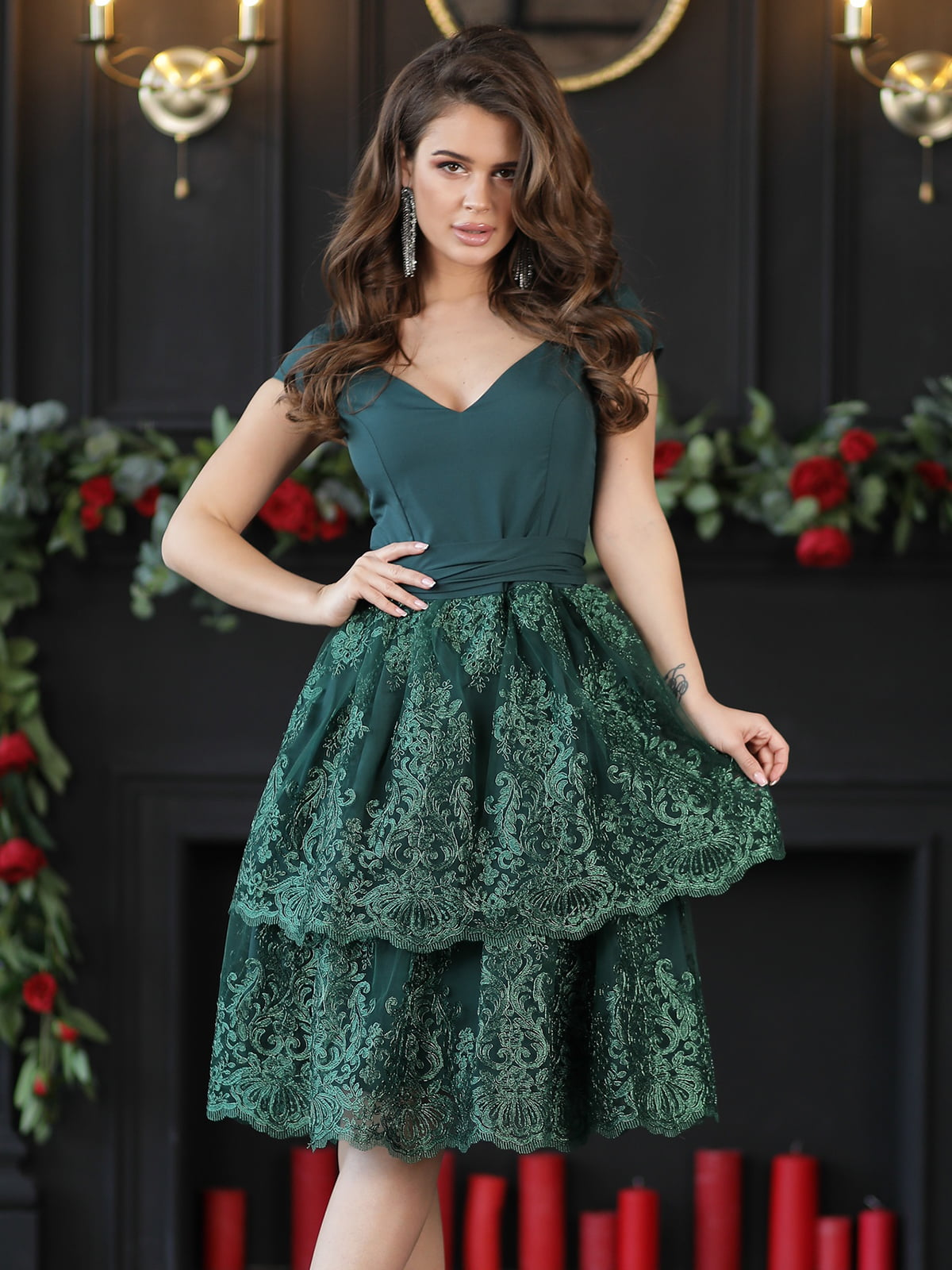 Сукня смарагдового кольору | 5401069
