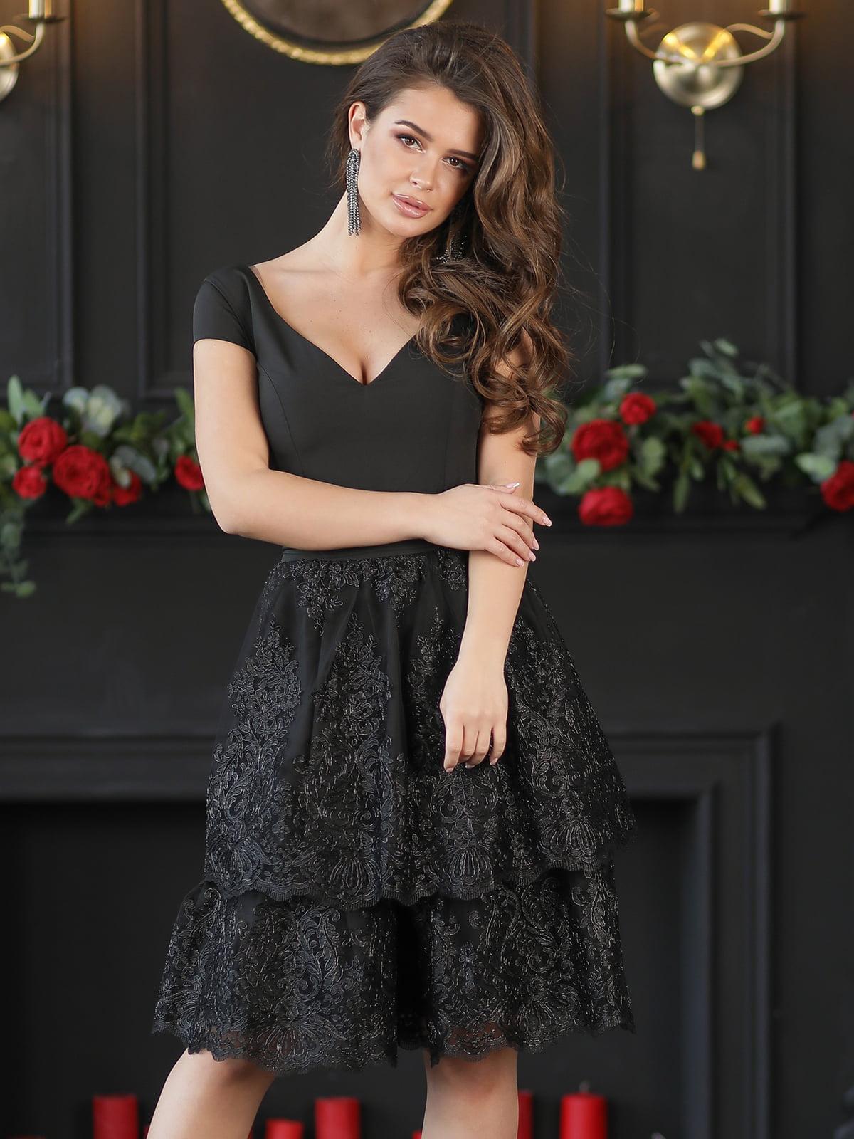 Платье черное | 5401070