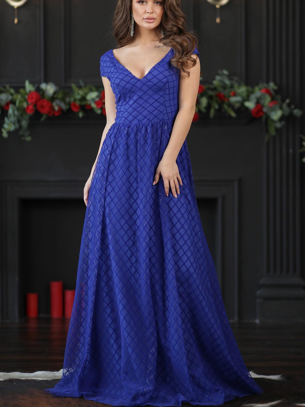 Платье цвета электрик | 5401082