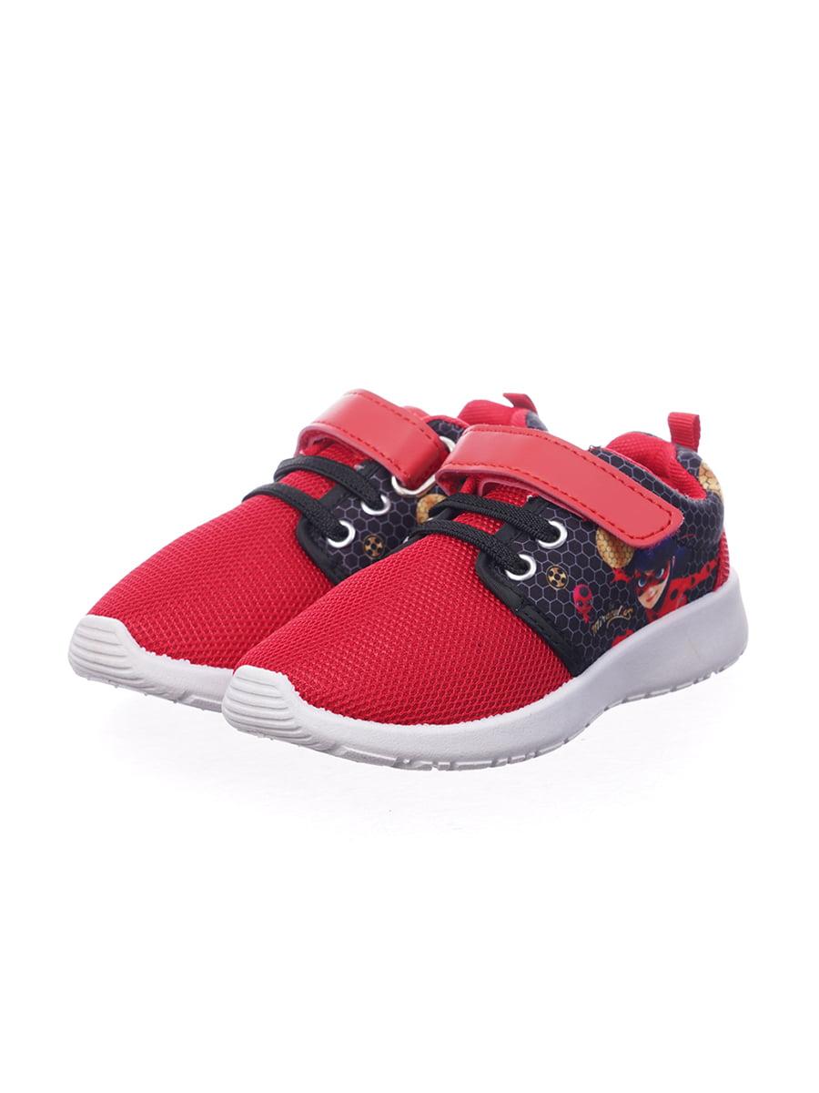 Кроссовки красные с декором   5401810