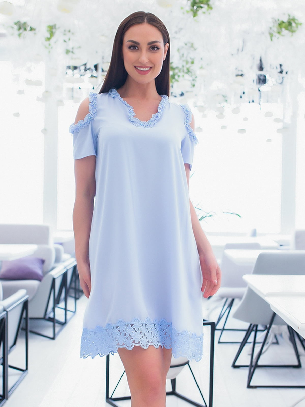 Сукня блакитна   5379695