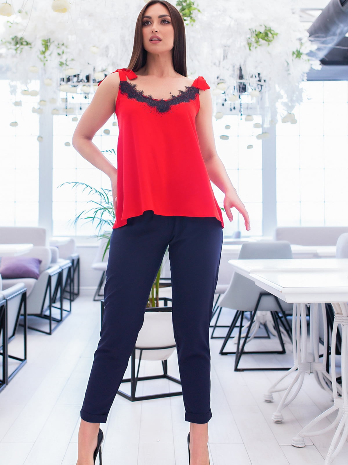Костюм: блуза і штани | 5379697
