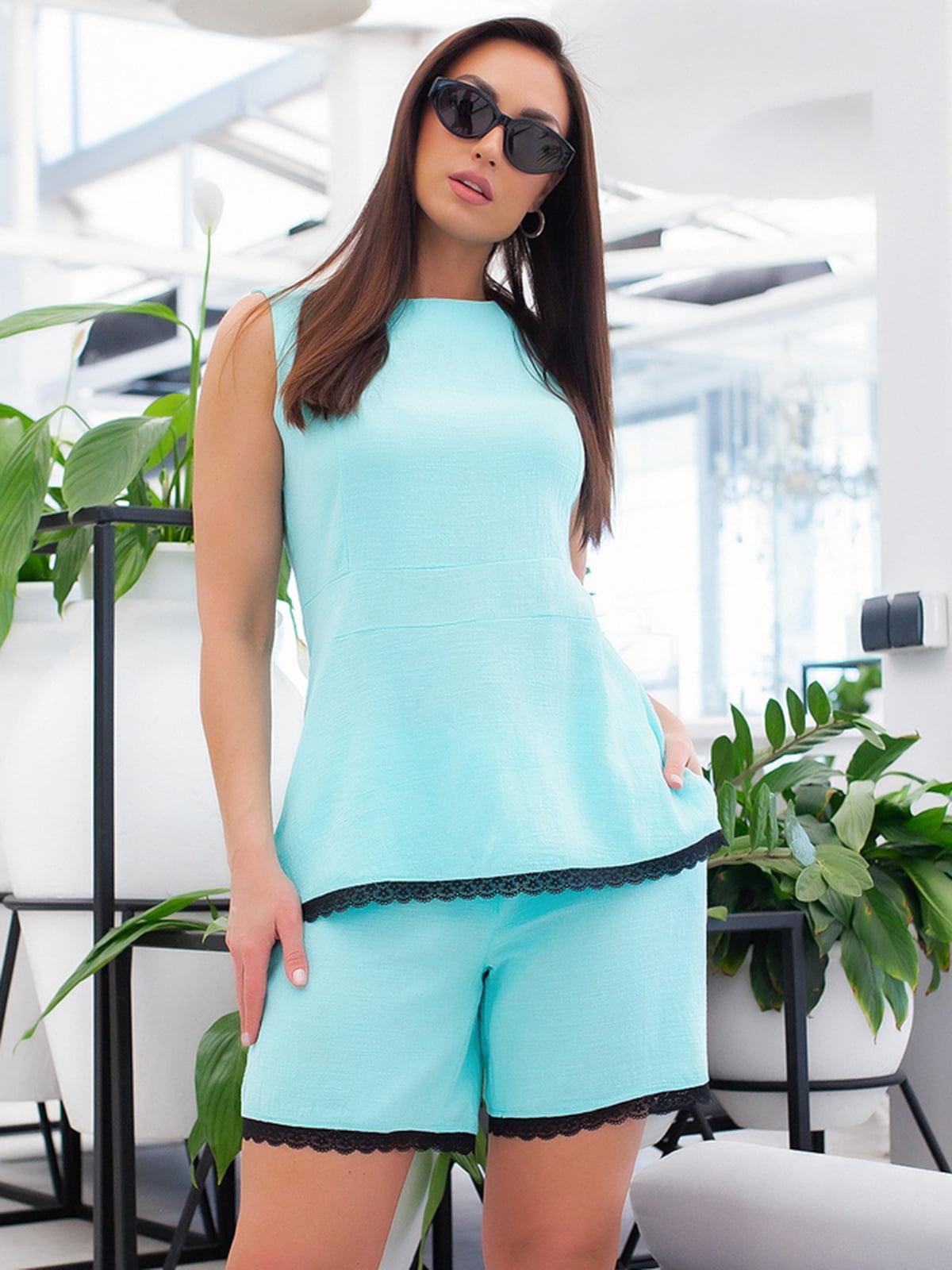 Костюм: блуза и шорты | 5379698