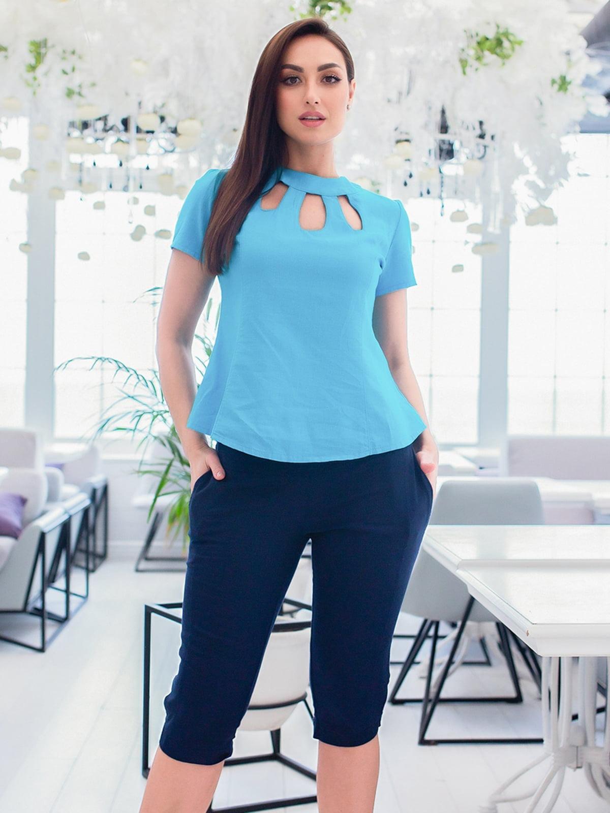 Костюм: блуза і капрі   5379702