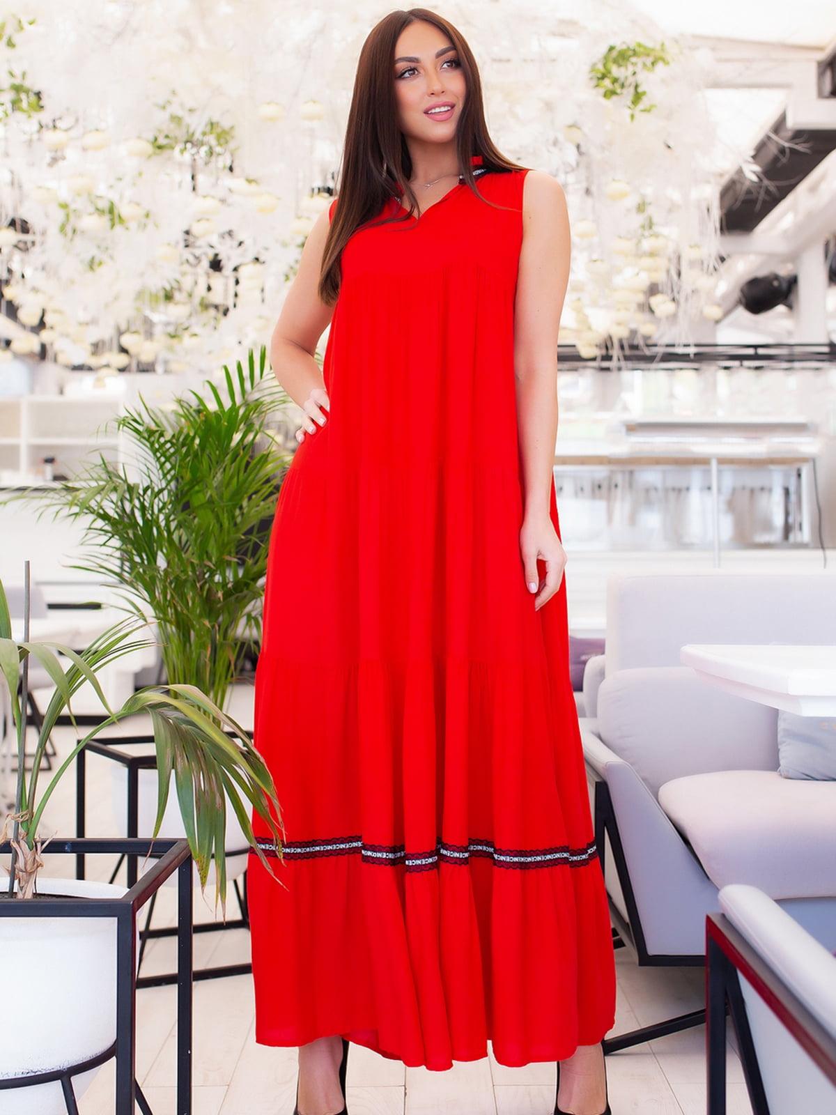 Платье красное   5379704