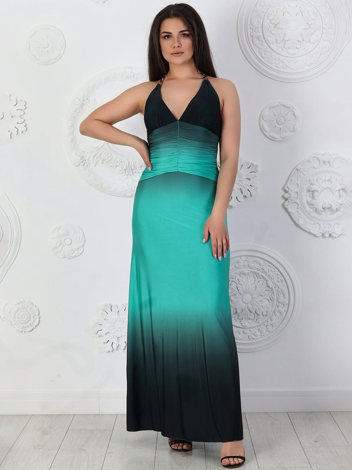 Сукня бірюзова   5402853