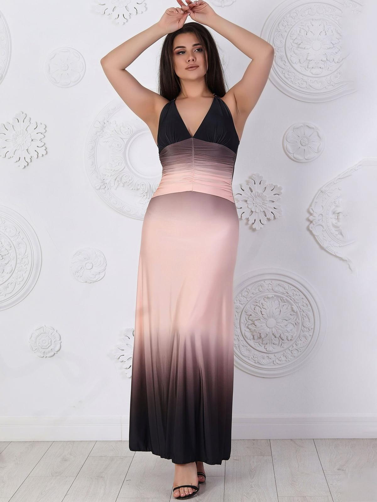 Платье цвета пудры | 5402855