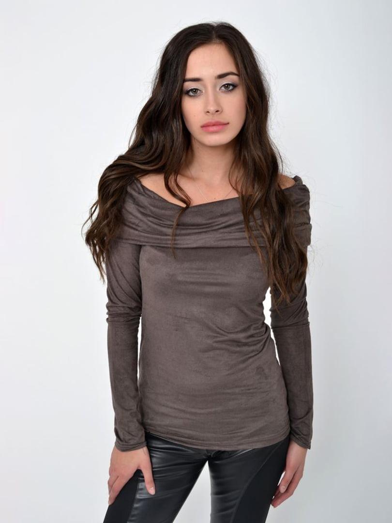 Блуза кофейного цвета | 5415930