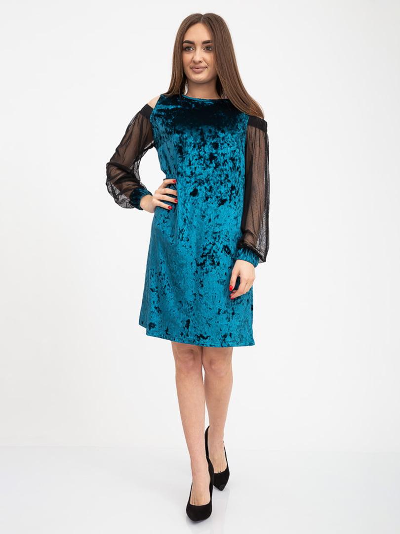 Платье изумрудного цвета | 5416009