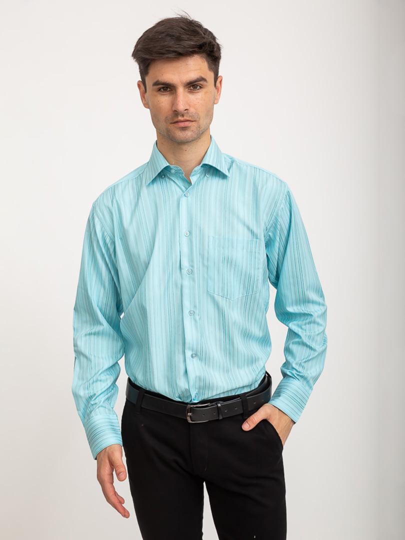 Рубашка бирюзовая   5416048
