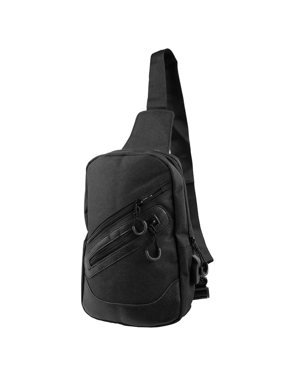 Сумка-рюкзак чорна | 5417005
