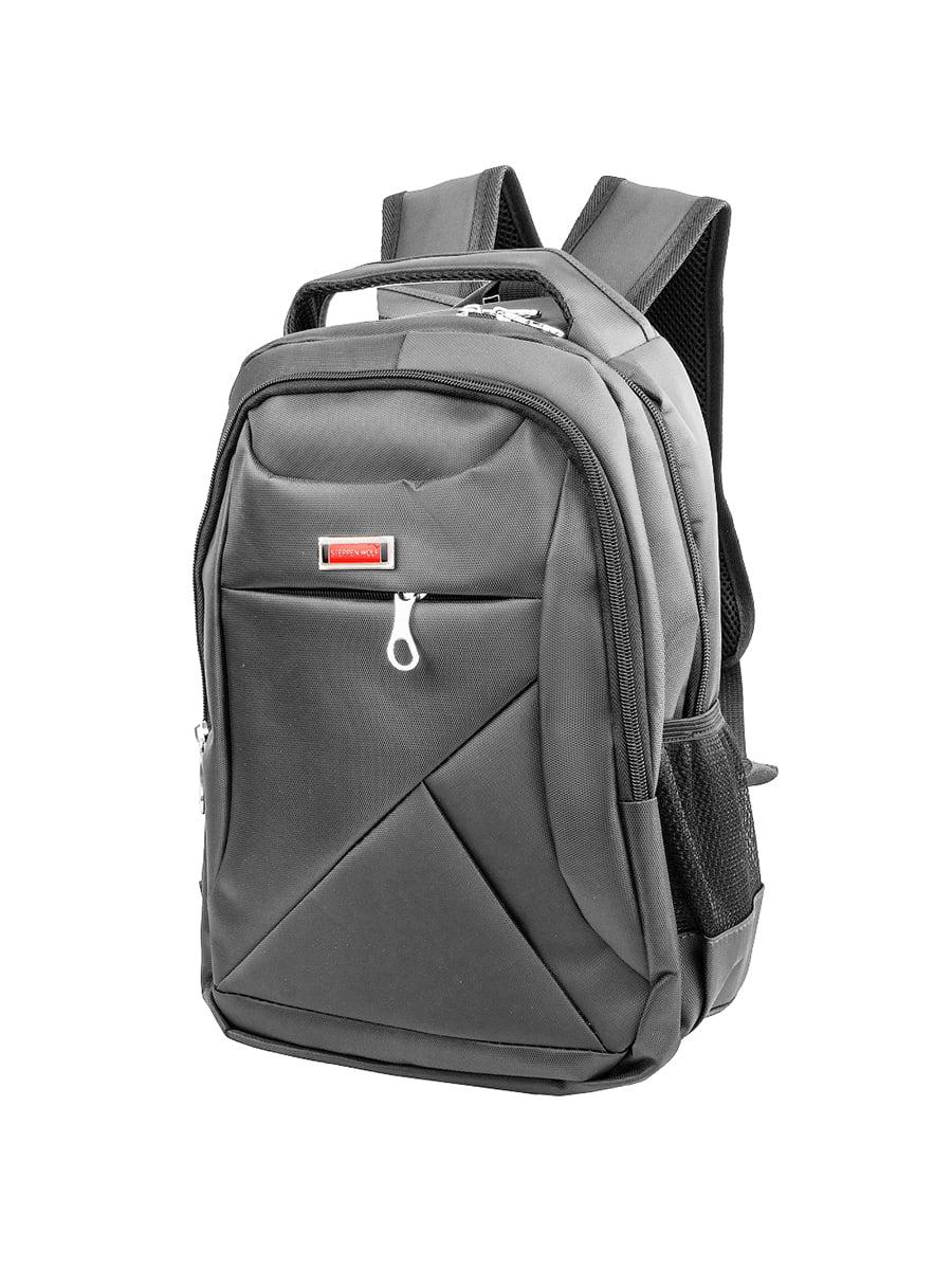 Рюкзак сіро-чорний   5417048