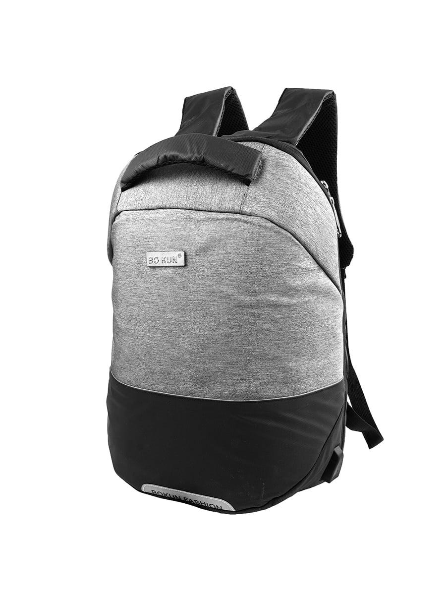 Рюкзак чорно-сірий | 5417059