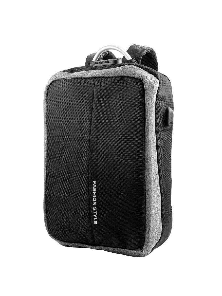 Рюкзак чорно-сірий | 5417110