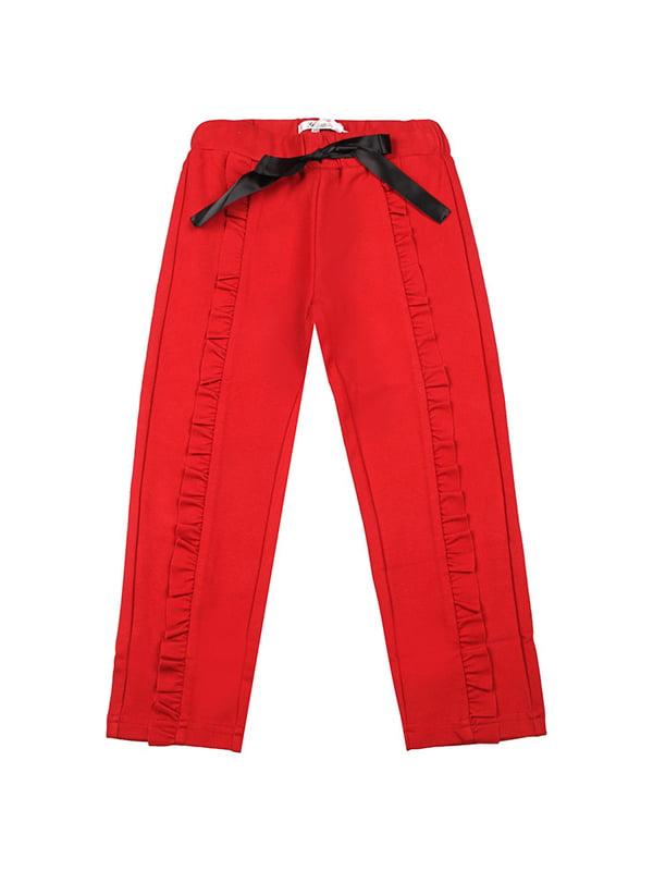 Штани червоні | 5416515