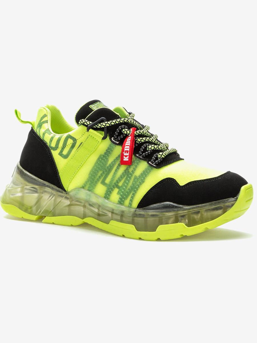 Кросівки жовто-чорні | 5419023