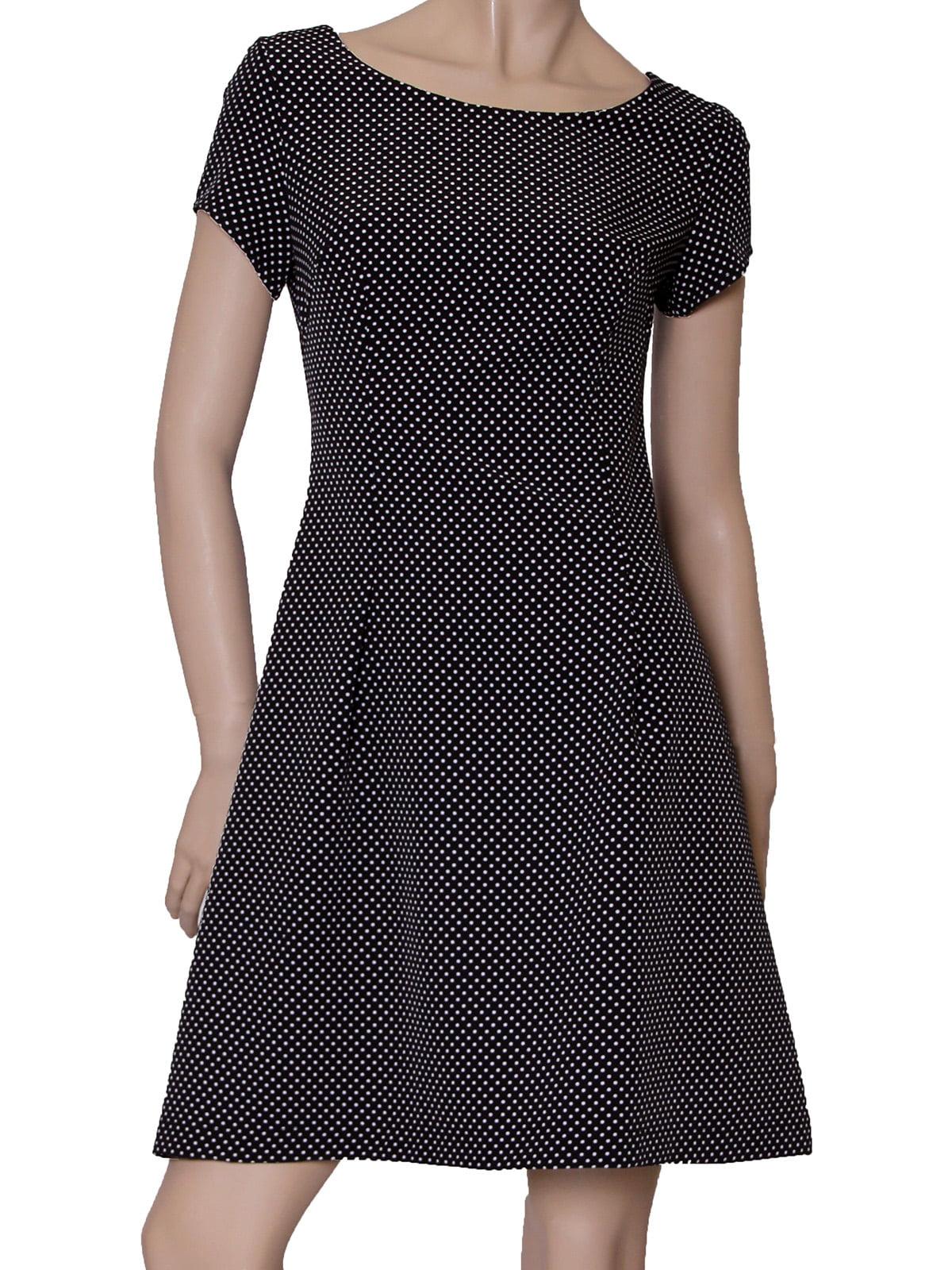 Платье черное в горох   5419545