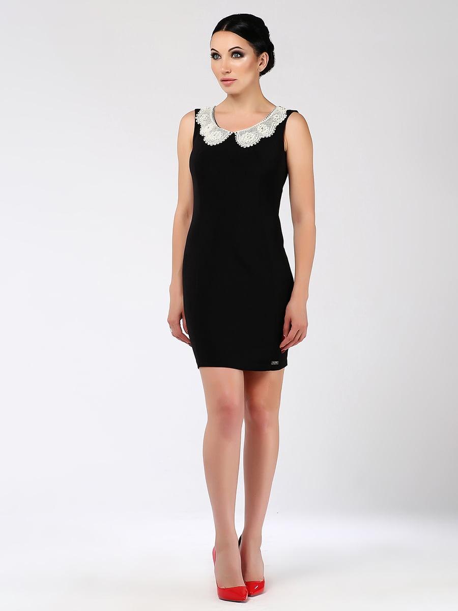 Сукня кольору темного льону | 5419717