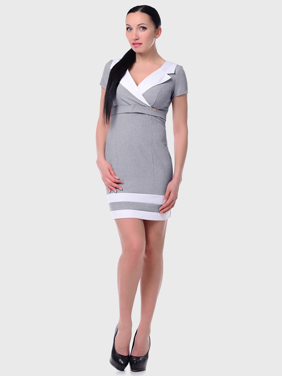 Сукня кольору темного льону | 5419724