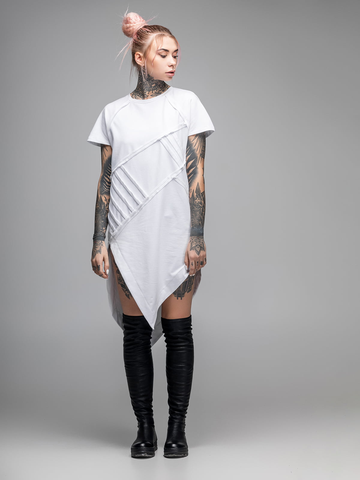 Сукня-туніка біла   5422947