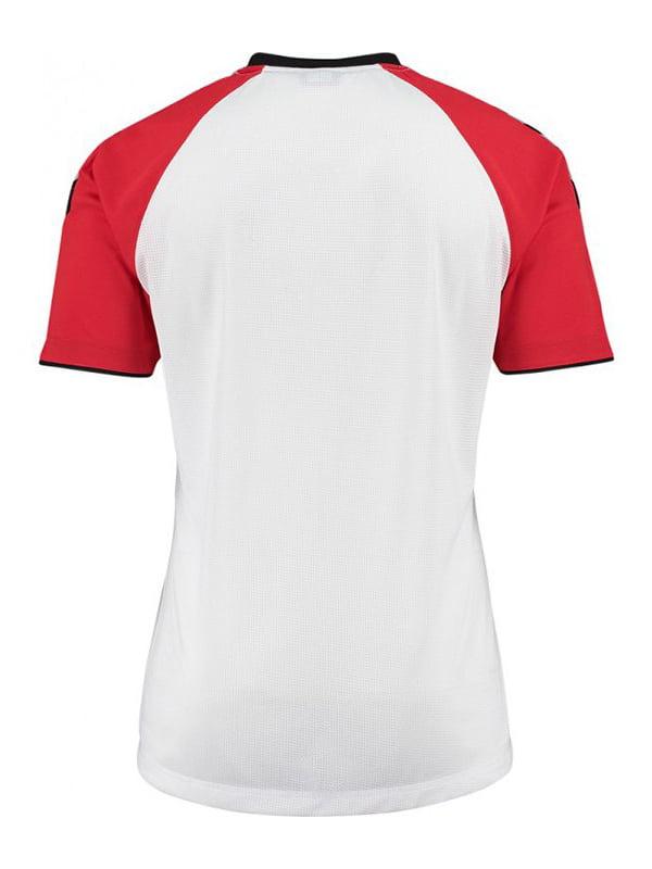 Футболка бело-красная   5421678
