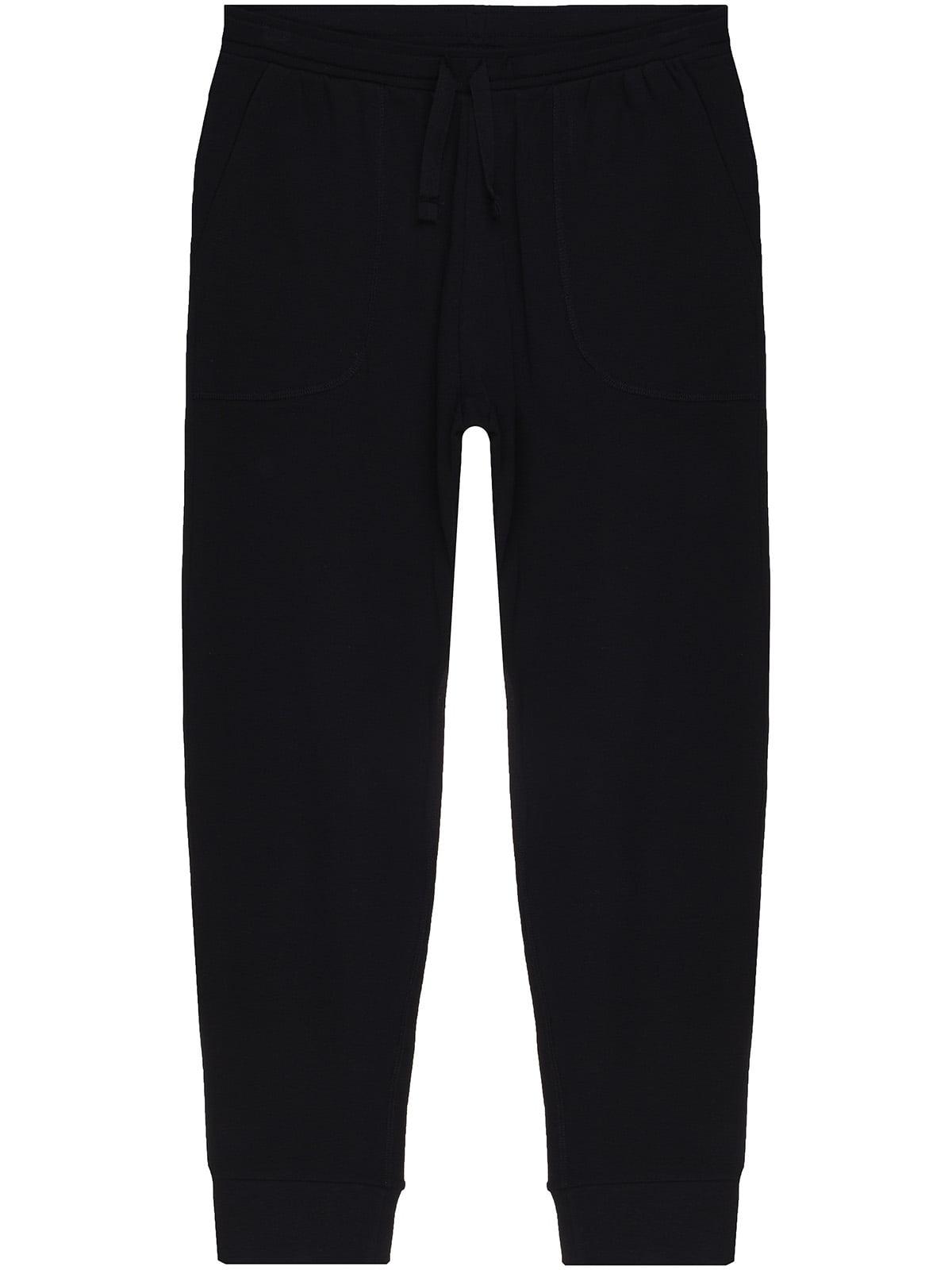 Штани піжамні чорні | 5366559