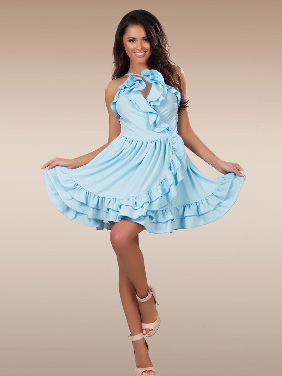 Платье голубое | 5423633