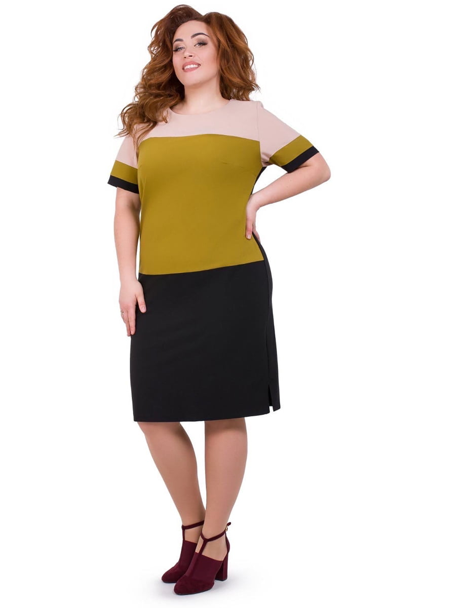 Сукня триколірна | 5423646
