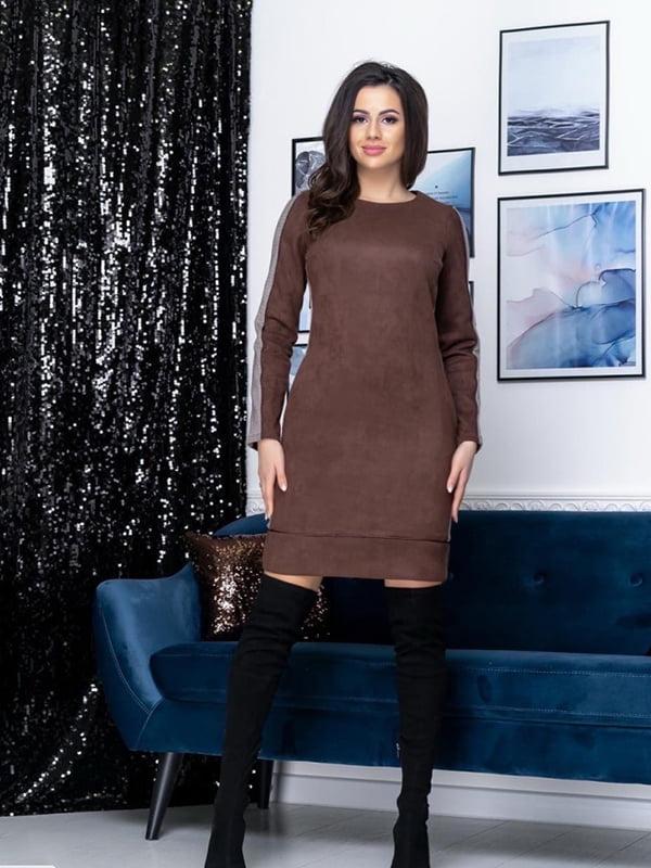 Платье шоколадного цвета | 5423610