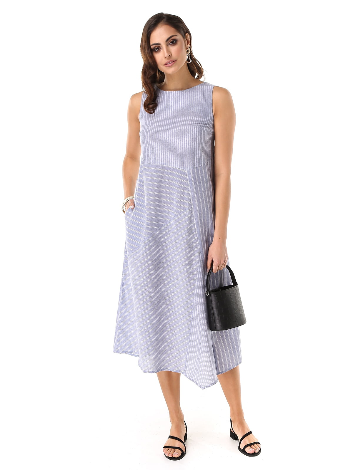Платье в полоску   5424363