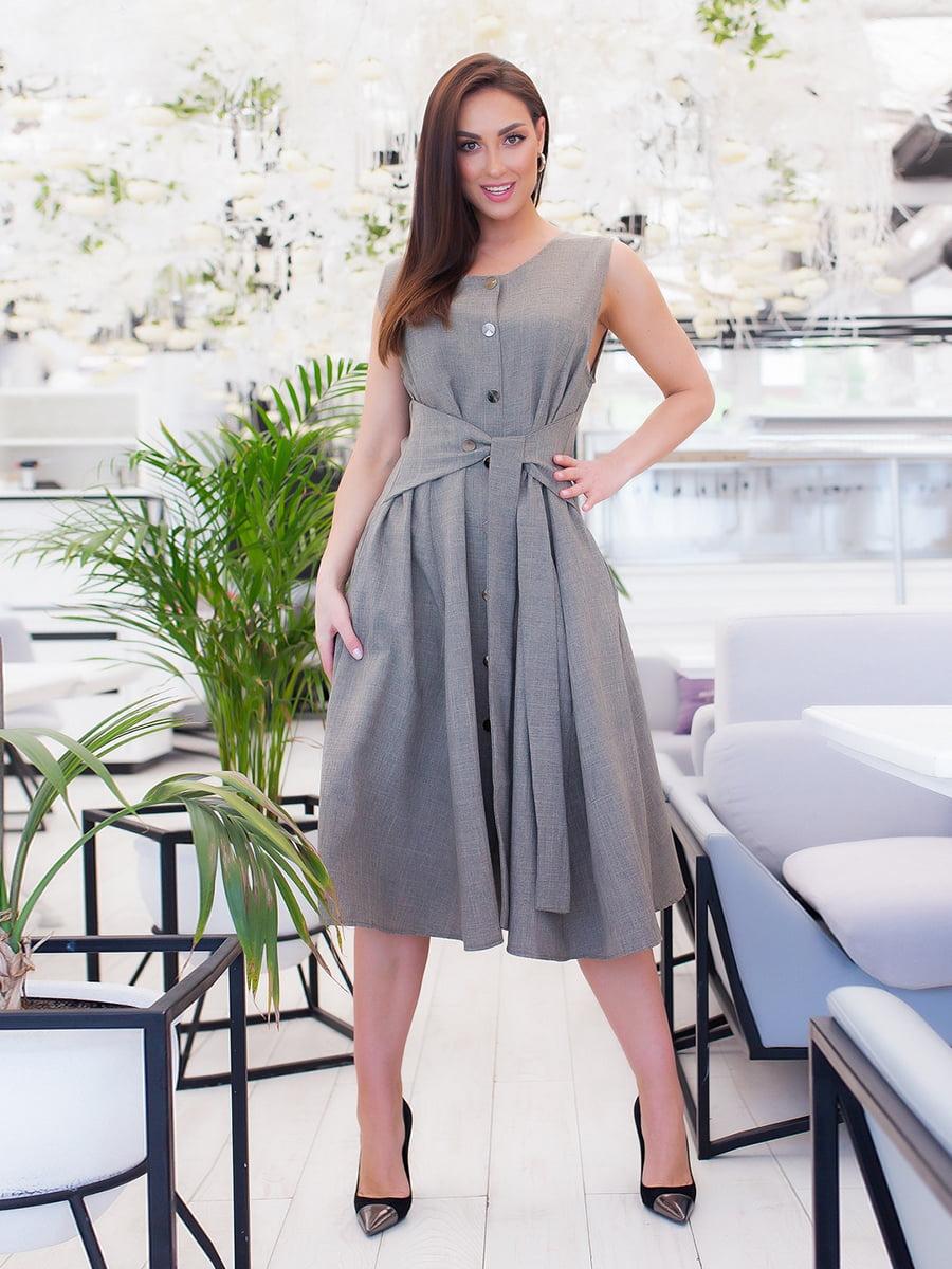 Сукня кольору хакі   5379592