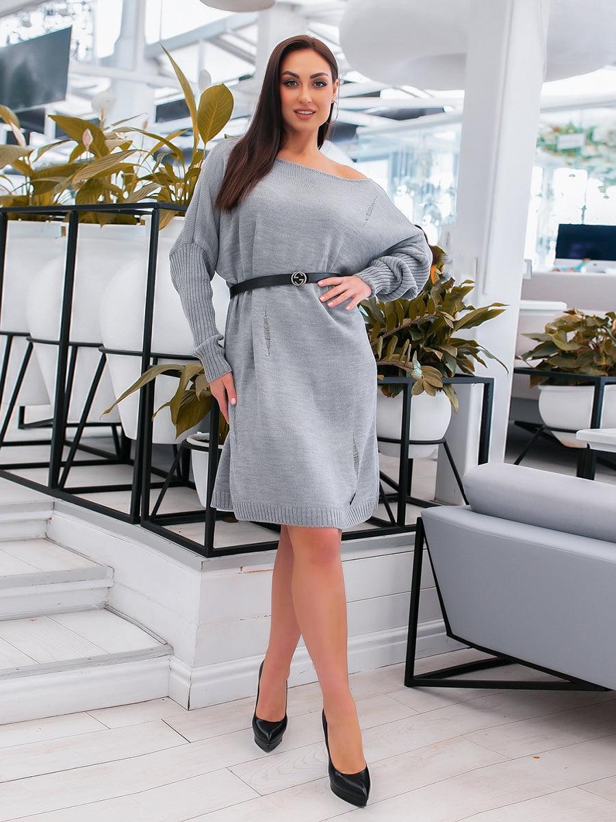 Сукня сіра   5379616