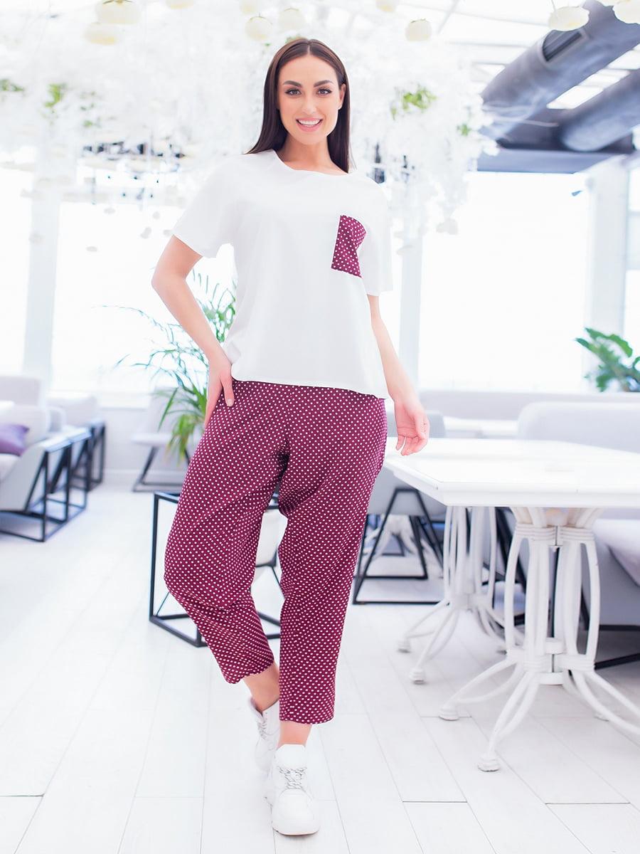 Пижама: футболка и брюки | 5386600