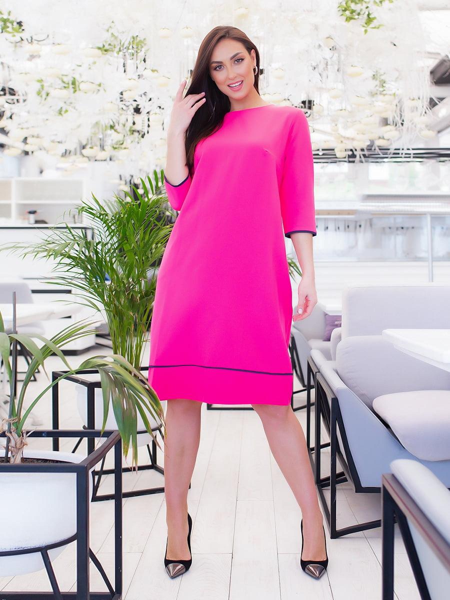 Платье малинового цвета   5423678