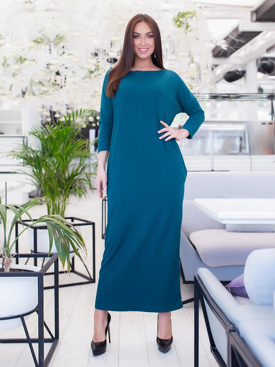 Платье цвета аквамарин | 5423685