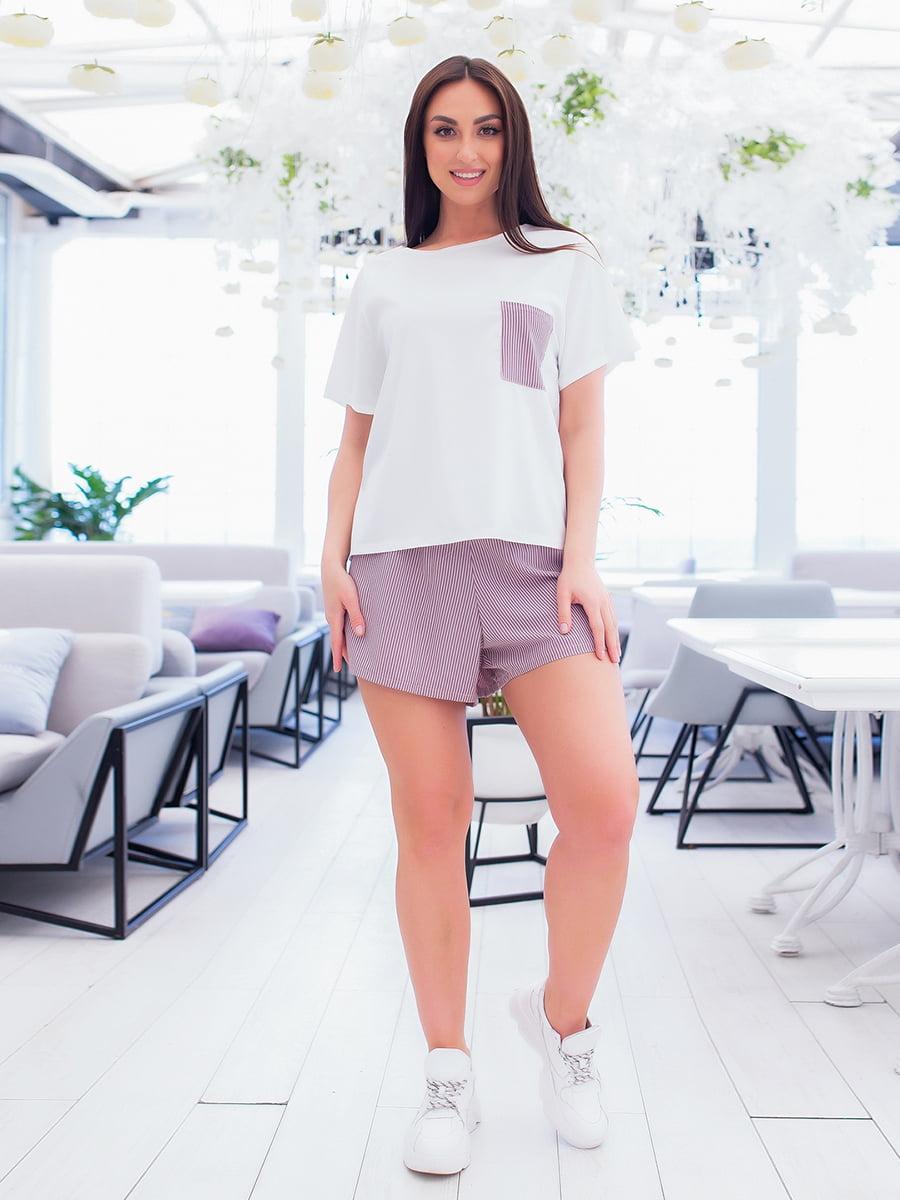 Піжама: футболка, штани і шорти | 5423707