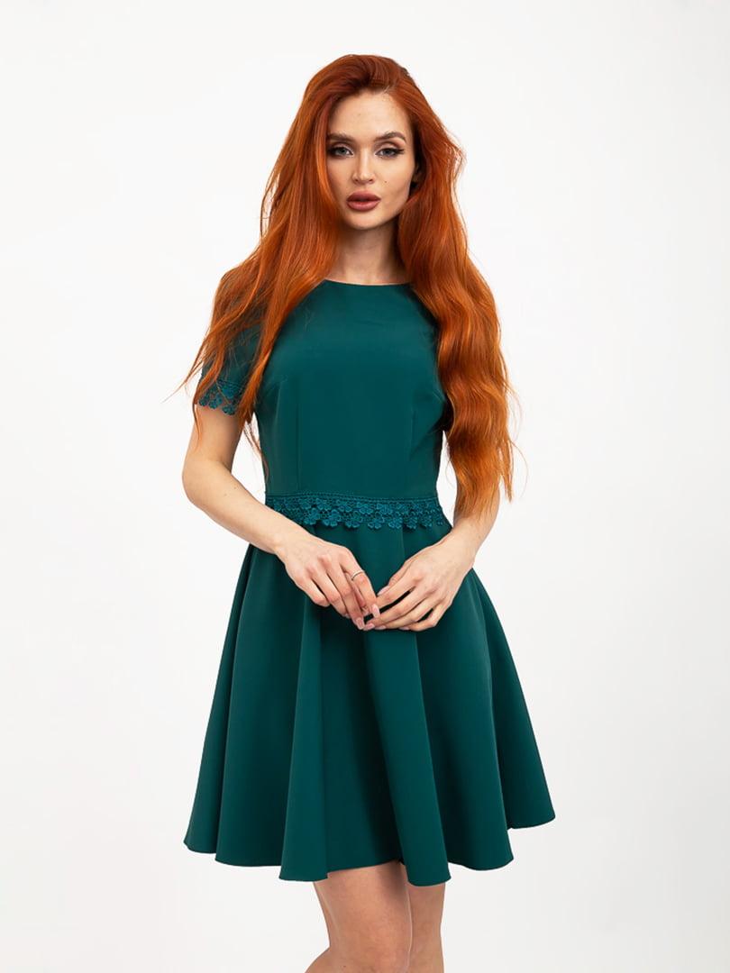 Платье зеленое | 5426925