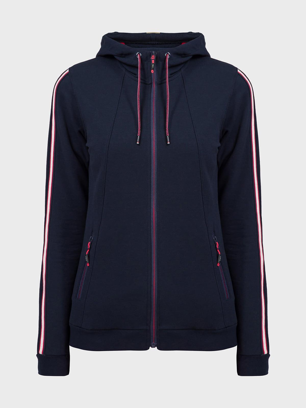 Куртка чорно-синя | 5398790
