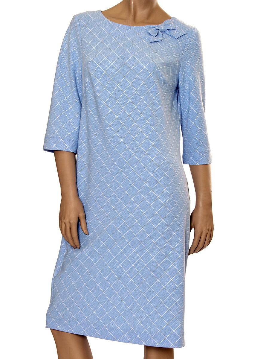 Платье голубое | 5428704