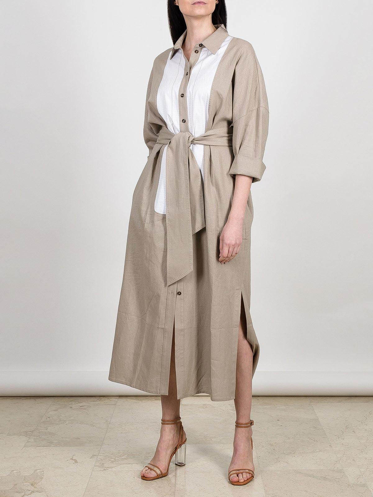 Сукня кавового кольору | 5430206