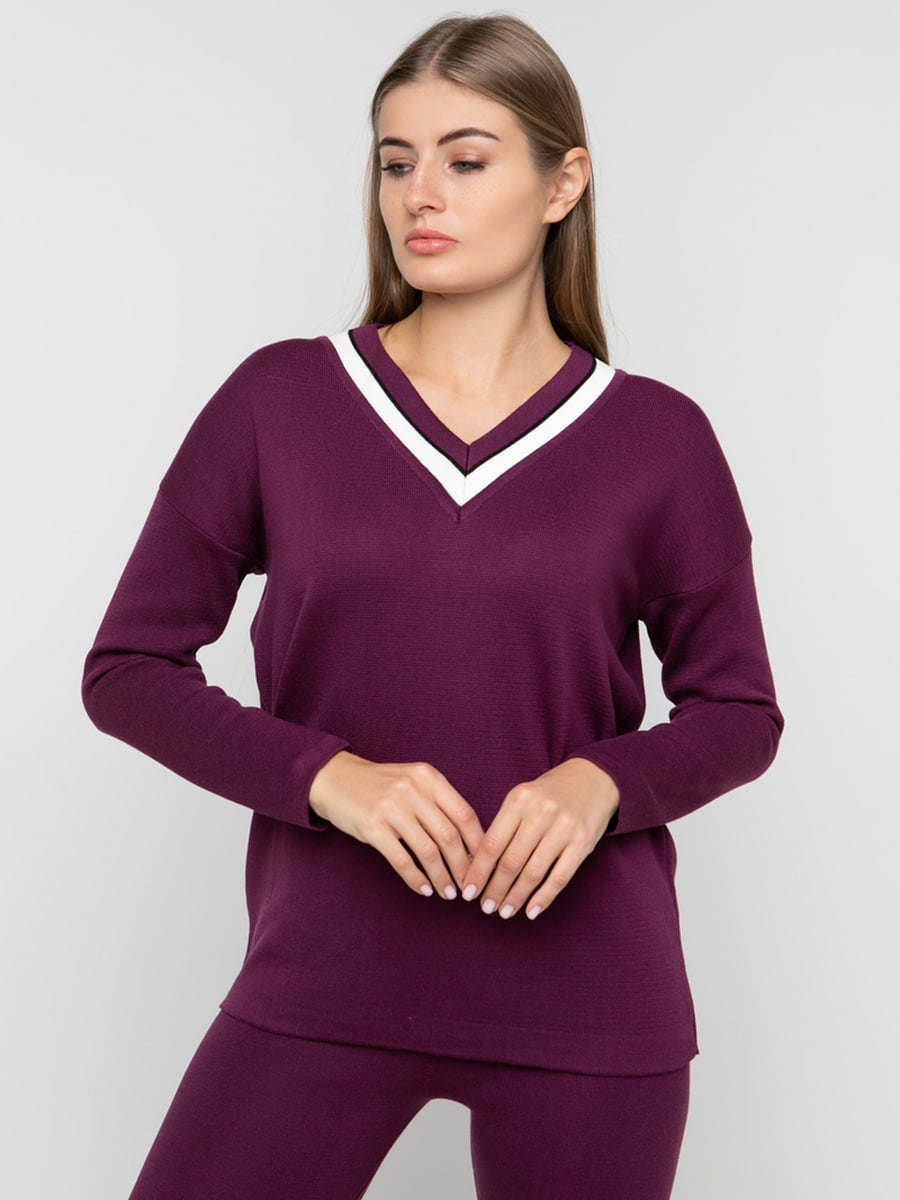 Пуловер цвета фуксии | 5430370