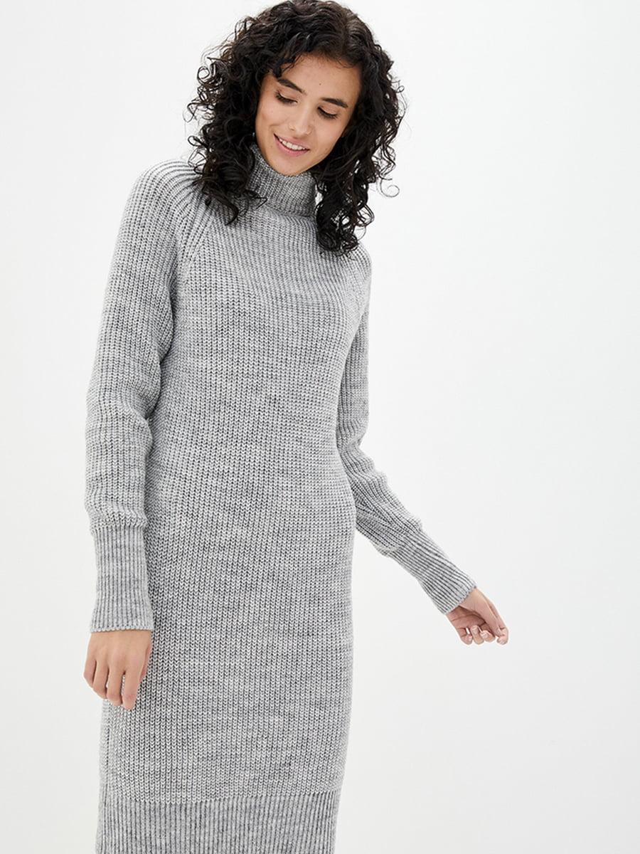 Сукня світло-сіра | 5430429