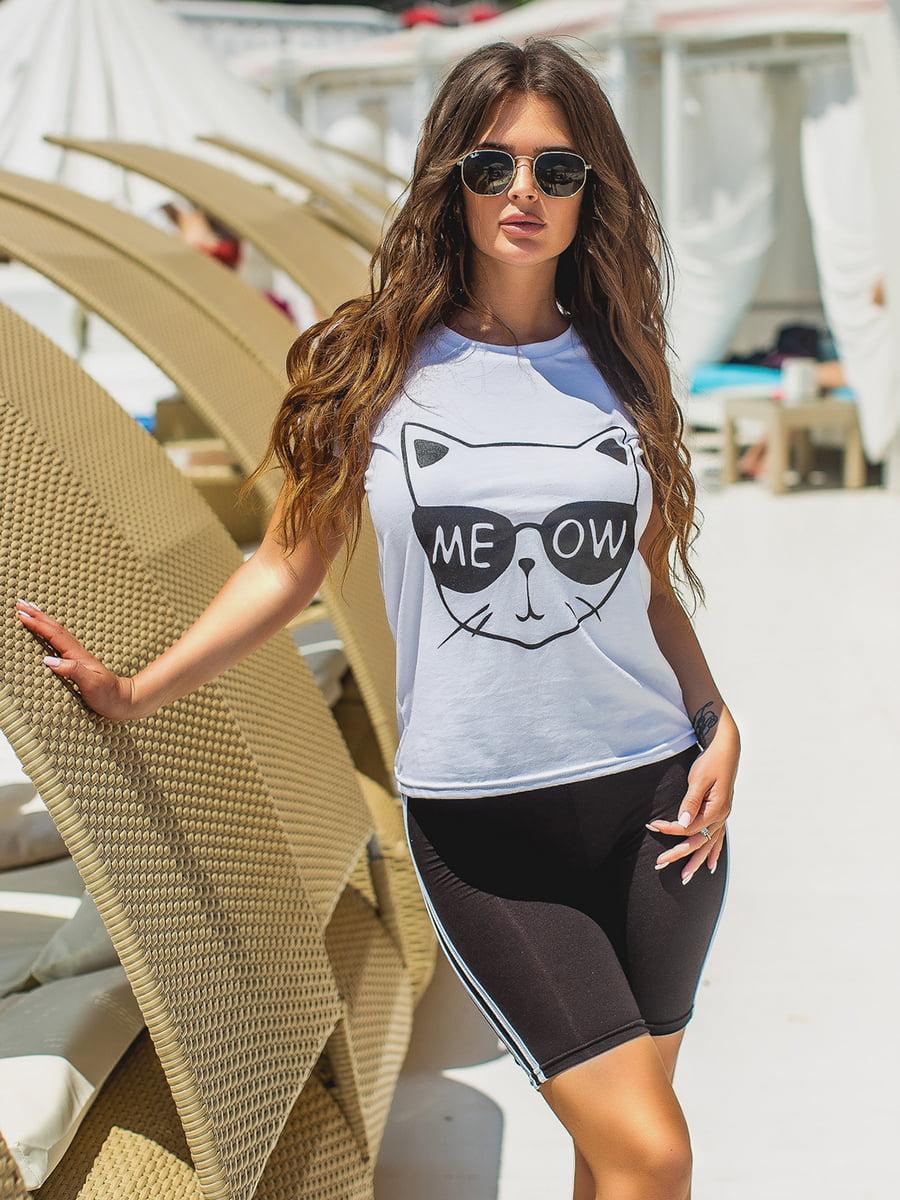 Костюм спортивный: футболка и шорты | 5430913
